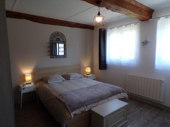 lit 2 places dans une chambre adulte gite chez Marion à Dozulé