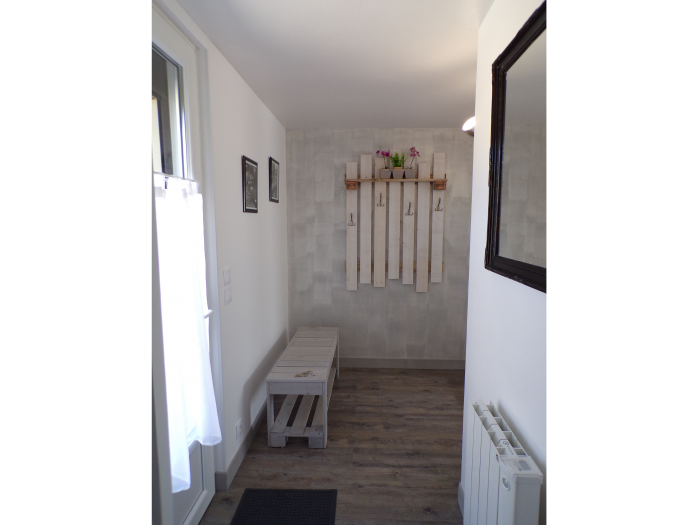 Photo de l'entrée du Gite Chez Marion à Dozulé