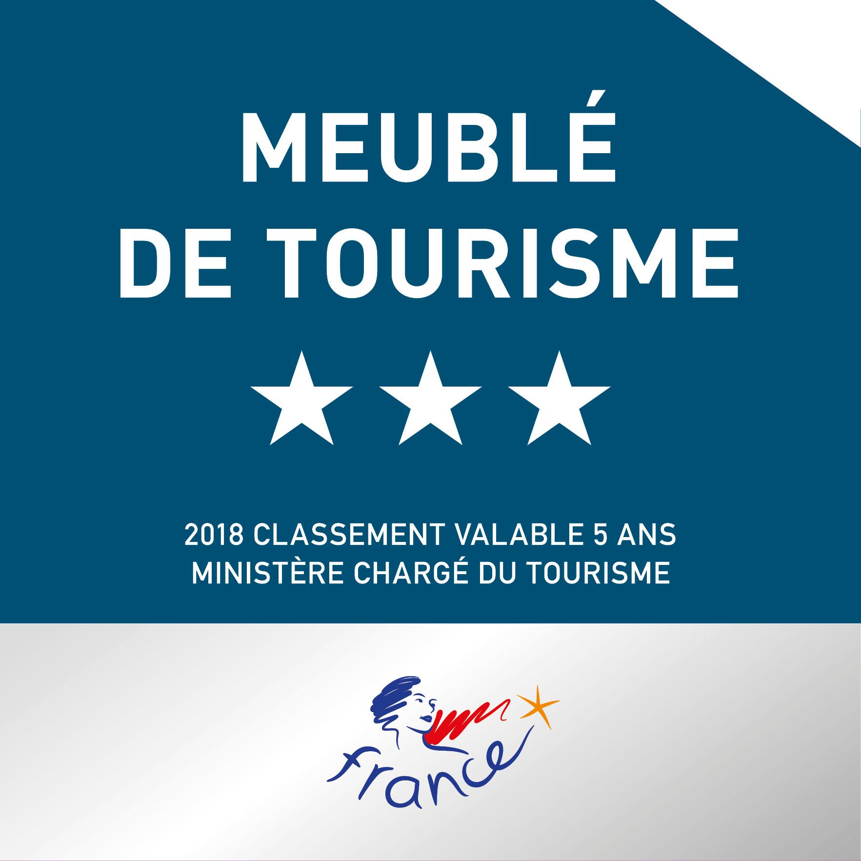 Plaque Meuble tourisme 3 étoiles2018